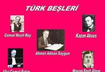 Türkiye Cumhuriyeti Klasik Batı Müziği Türk Beşleri Osmanlı Türk Musikisi. Müzik Nota Besteleri Konserleri Eserleri