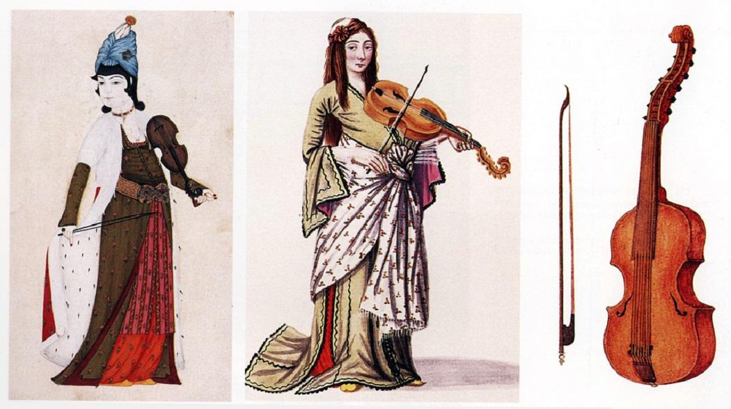 Kemani Kevser Hanım Kimdir Ve Eserleri Osmanlı Sarayı Kadın Bestekarı Piyanist Besteci Sine Kemani Sinekemani çalan Kadin