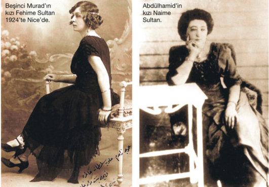 Naime Sultan 1876 1945 Fatma Hanedan Mensubu Müzisyen Kadınlar Sultan 2. Abdülhamid Han Kızı