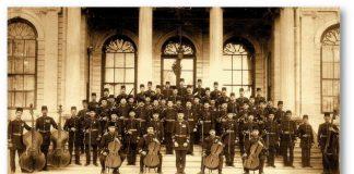 Mehmet Ali Bey Osmanlı Sarayı Ilk Bando Ve Orkestra Şefi Musika I Hümayun Osmanlı Askeri Saray Bandosu Klasik Batı Orkestrası Muzıka I Humayun 1917
