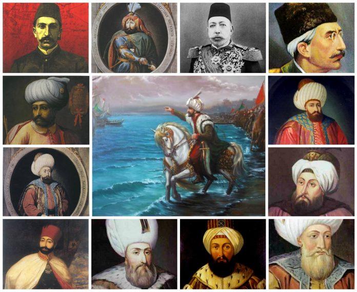 Padişahları Hüküm Sürdükleri Taht Yılları Osmanlı Padişahlarının Saltanat Süreleri Osmanlı Padişahlarının Saltanat Yılları