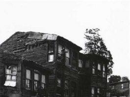 EHZADE SEYFEDDİN EFENDİ KÖŞKÜ Köşk Kısıklı Caddesi Ile Küçük Çamlıca Caddesi Arasında Harebe Tarihi Köşk Camlica Siyah Beyaz Fotograf