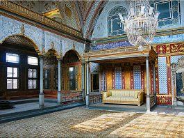 Harem Dairesi Topkapı Sarayı Istanbul Sultan 3. Selim Dönemi Osmanlı Saray Haremi Yaşamı Sanat Mimari EtkileriPalace Harem Imperial Hall Ottoman Empire