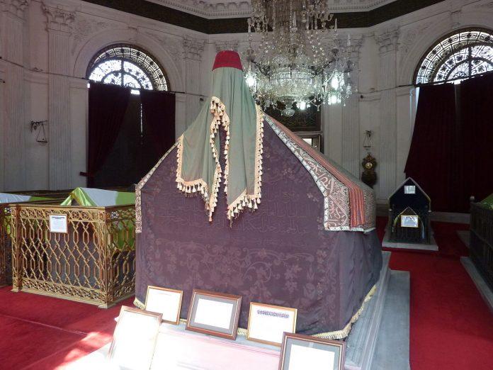 II. Mahmud Kabiri Mausoleum Of Sultan Mahmud 2. Mahmut Osmanlı Padişah Ve İslam Halife. Ottoman Empire