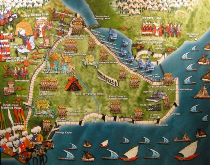 Kısaca İstanbul Fethi Türk Ve Dünya Tarihi Açısından Sonuçları Özet Maddeler Halinde Fatih Sultan Mehmed Haritası