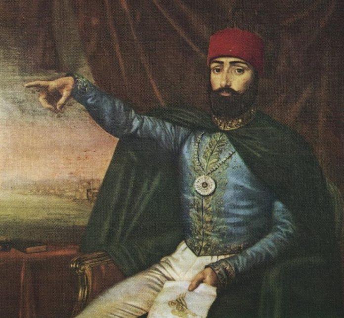 Osmanlı Hükümdarı 2. Mahmut Han Mısır Ordusu Ile Nizip Harbi Sultan Mahmud II