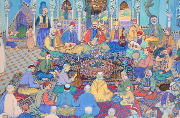 Osmanlı Sarayı Enderûn Okulunda Müzik Eğitimi Devletinde Müzik Eğitimi Kurumları Genel Bilgi Minyatür Müzisyenler Ottoman