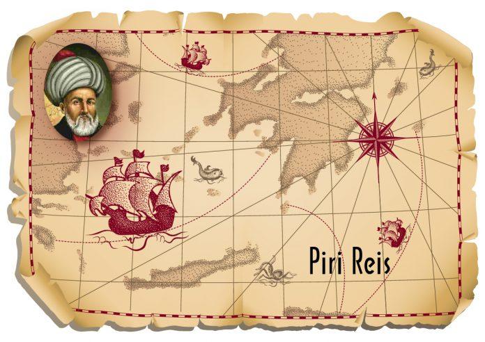 Piri Reisin Haritası Osmanlı Devleti İlim Ve Teknik İlerlemeleri Osmanlı Devleti. Ünlü Türk Müslüman Bilim Adamları Kimlerdir Bilim Katkıları Nedir Turk Islam Bilginleri