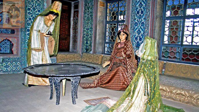 Sultan 2. Mahmud Saray Harem Bölümü Valide Sultanı İkballeri Gözdeleri Baş Kadınları Hanımları Ve Eşleri Harem Dairesi Topkapı Sarayı Istanbul