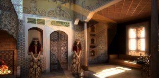 Sultan 2. Mahmud Saray Harem Bölümü Valide Sultanı İkballeri Gözdeleri Baş Kadınları Hanımları Ve Eşleri. Topkapı Sarayı Valide Sultan Dairesi