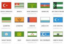 Türk Devletleri'nin Kuruluş Ve Yıkılış Tarihleri Bayrak Türk Eski