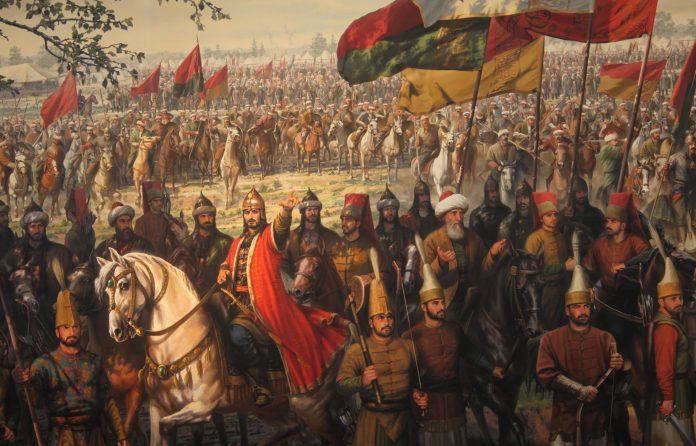 Türkiye Tarihi Ordu Türk Ordusu. Osmanlı Kuvvetleri Savaş Harp Askeri Kuvvetleri