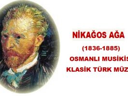 NİKAĞOS AĞA Taşcıyan Udi Bestekar Nikogos Ağa Ermeni Güftekâr Müzisyen Osmanlı Klasik Türk Müziği Beste Nota 2