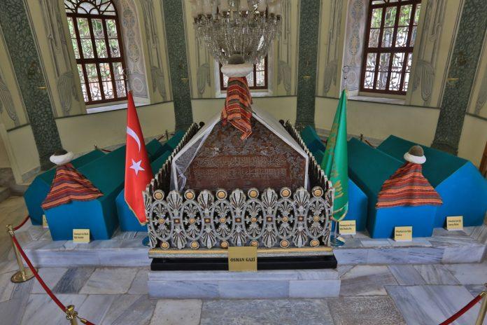 Osman Gazi Türbesi Osmanlı Ailesi Hanedan Şehzadeleri Sultanları Çocukları Torunları Eşleri Nerede Nasıl Öldü. Mezarları